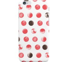 Polka dots pattern iPhone Case/Skin
