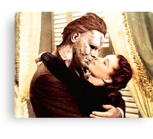 Michael Myers as Clark Gable Canvas Print