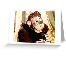 Michael Myers as Clark Gable Greeting Card