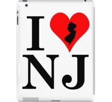I Love New Jersey iPad Case/Skin