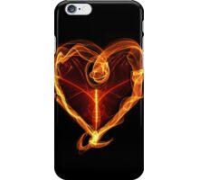 Burning Love Heart iPhone Case/Skin