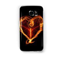 Burning Love Heart Samsung Galaxy Case/Skin