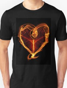 Burning Love Heart T-Shirt