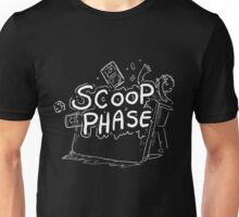Scoop Phase white Unisex T-Shirt