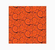 Orange swirls pattern Classic T-Shirt