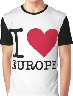 I love Europe! Graphic T-Shirt