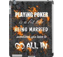 Playing Poker iPad Case/Skin