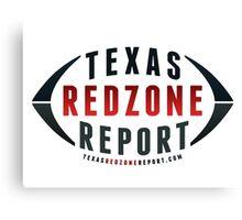 Texas Redzone Report Gear Canvas Print