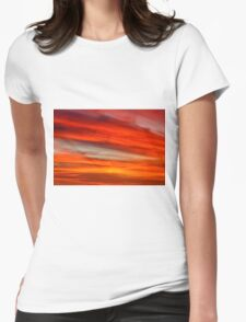 New Year Cloud Womens Fitted T-Shirt