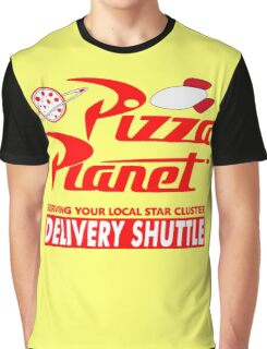 Pizza Planet Graphic T-Shirt