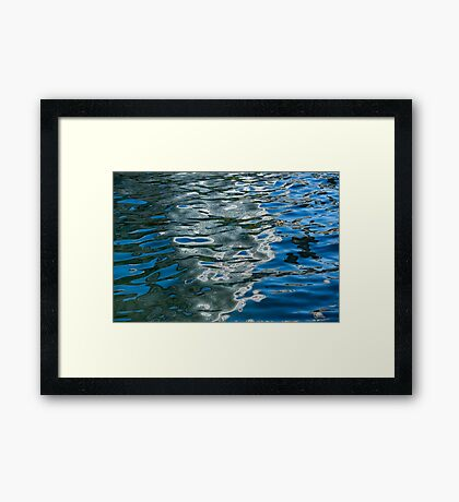 Dazzling Liquid Abstracts Four Framed Print