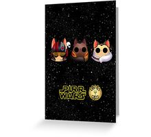 Dana's world of Cats - Purr Wars, The rookies Greeting Card