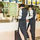 Hostesses Waiting to be Served by Werner Padarin