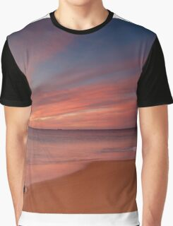 Clouded Sunset Graphic T-Shirt
