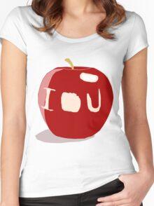IOU Sherlock Women's Fitted Scoop T-Shirt