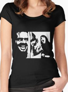 Here's Johnny! - The Shining Women's Fitted Scoop T-Shirt