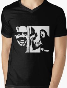 Here's Johnny! - The Shining Mens V-Neck T-Shirt