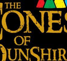 cones of dunshire logo Sticker