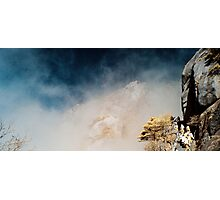 Huangshan Mist in Infra Red Photographic Print