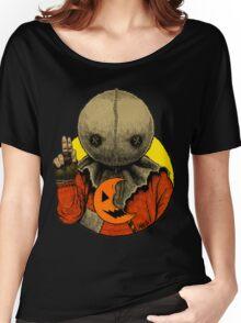 Halloween Saints: Sam ALTERNATE Women's Relaxed Fit T-Shirt