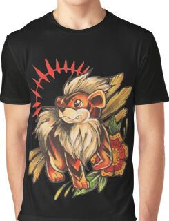 Growlithe  Graphic T-Shirt