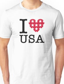 I love the USA! Unisex T-Shirt
