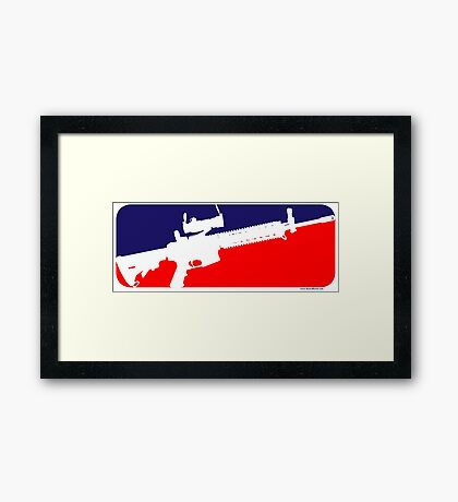 Major League Framed Print