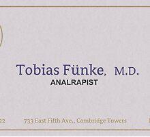 tobias funke analrapist by wendyrodgers