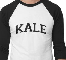KALE Black Ink Men's Baseball ¾ T-Shirt
