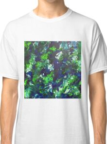 Abstract Green Classic T-Shirt