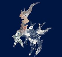 Arceus Earth Silhouette by Frankie T
