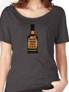 Protect Drunk Girls Women's Relaxed Fit T-Shirt