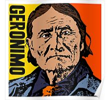 GERONIMO-COLOUR Poster