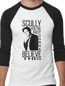 Scully you're not gonna believe this Men's Baseball ¾ T-Shirt