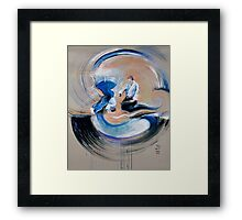Impulse - Aikido Framed Print