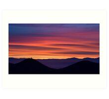 Sunrise Over San Diego Art Print