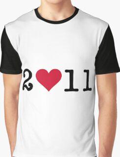 I love 2011! Graphic T-Shirt