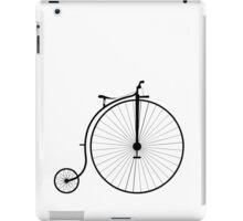 Vintage High Wheeler Penny Farthing Bicycle iPad Case/Skin