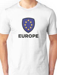 The Union Flag of Europe Unisex T-Shirt