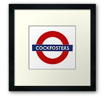 Cockfosters Framed Print