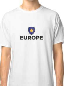 The Union Flag of Europe Classic T-Shirt
