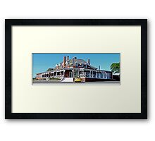 only one patron? (Panorama) Framed Print