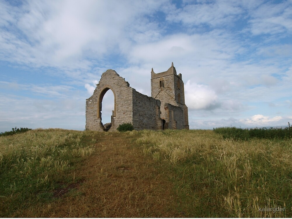 Ruined Church in Somerset - 4 by kalaryder