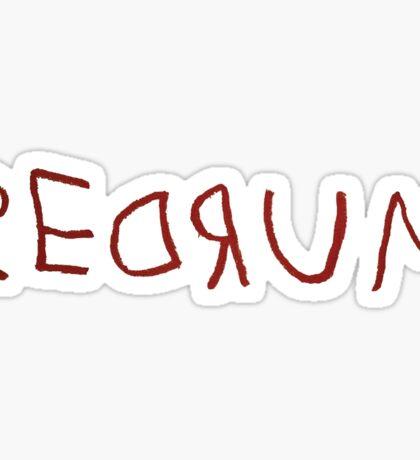 REDRUM - The Shining Sticker