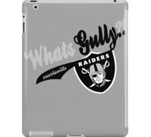 WhatsGully?? RAIDERS  iPad Case/Skin