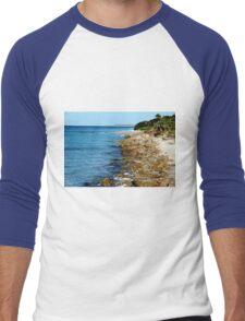 Venice Fishing Pier Men's Baseball ¾ T-Shirt