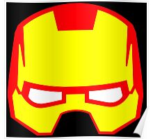 Super hero mask (Iron man) Poster