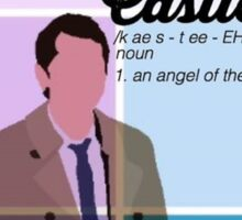 Definition of Castiel Sticker