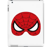 super hero mask (spider man) iPad Case/Skin