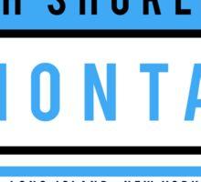 South Shore Montauk Sticker